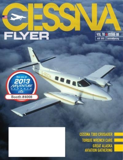 August 2013 Cessna Flyer Magazine