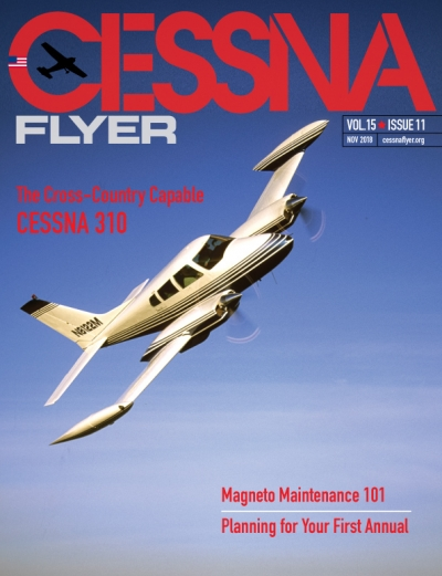 NOVEMBER 2018 CESSNA FLYER MAGAZINE
