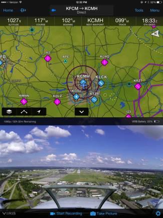 Garmin Pilot and VIRB Integration