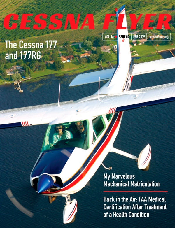 FEBRUARY 2019 CESSNA FLYER MAGAZINE