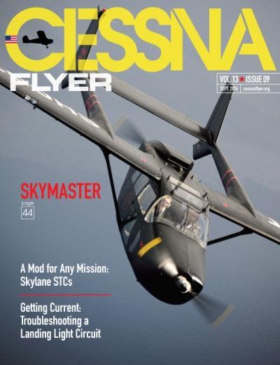 September 2016 Cessna Flyer magazine