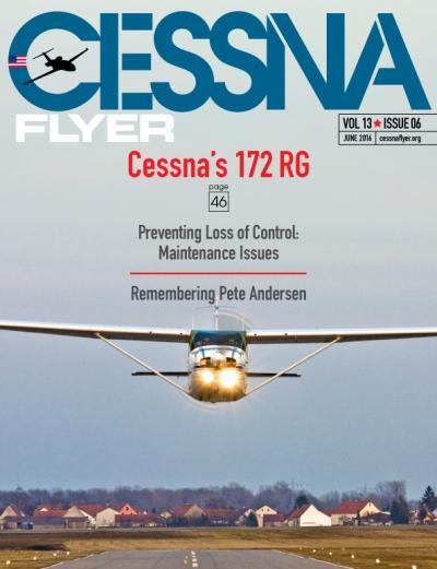 June 2016 Cessna Flyer magazine