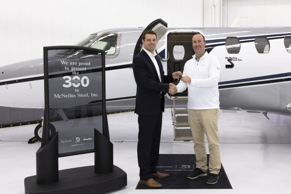Textron Aviation celebrates light jet segment leadership with the delivery of its 300th Cessna Citation CJ4