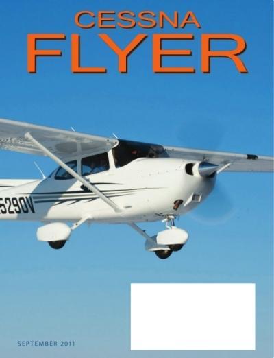 September 2011 Cessna Flyer Magazine