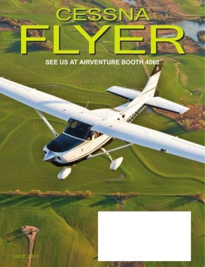 July 2011 Cessna Flyer Magazine