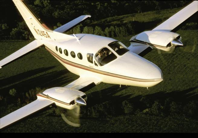 The Cessna 414 - Still a good choice for the small business flyer