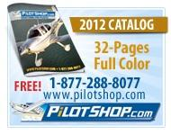Large selection of pilot supplies and aircraft accessories