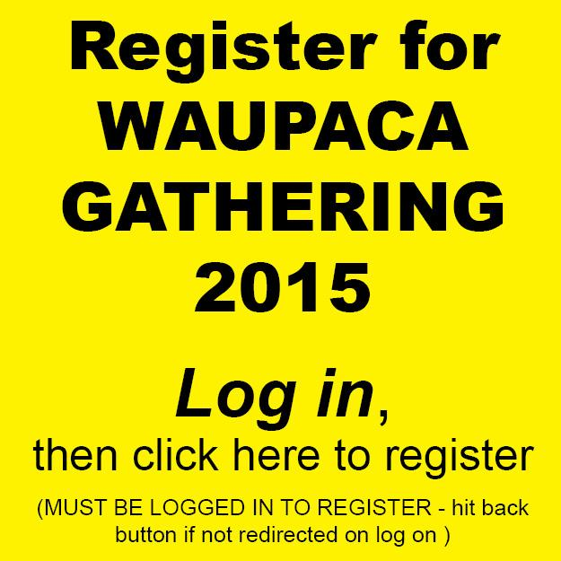 Waupaca register event page