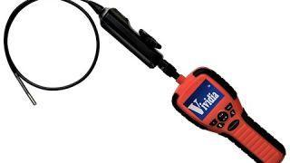 VA-150 Two-Way Articulating Borescope Videoscope Inspection Camera 6mm Probe 2.7