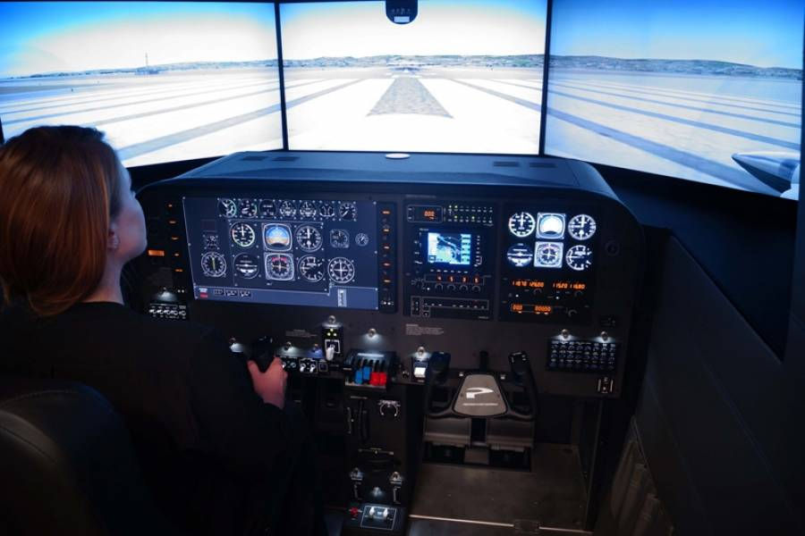Cessna Flyer Association - Simulated Cockpit, Real Training