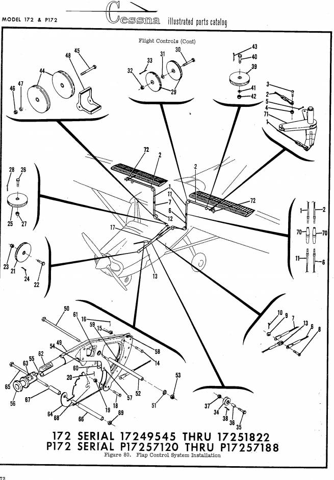 9ee28f01f100eeeb1372f6866ddd0d3a_L cessna flyer association converting c 172 flap system cessna 182 wiring diagram at soozxer.org