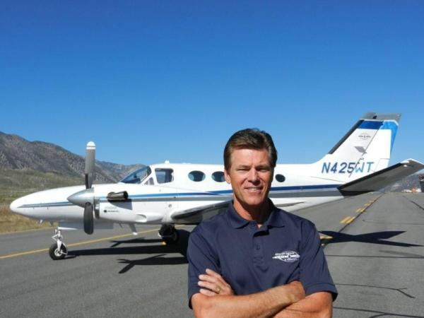 No Plans to Change: Jim Irwin's Cessna 425