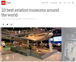 "EAA Aviation Museum Included in CNN Travel's ""Top 20 Aviation Museums in the World"" List"