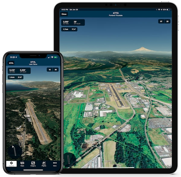 ForeFlight's New Airport 3D View Delivers Next-Generation Airport Familiarization