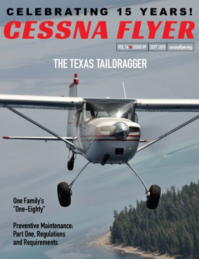 SEPTEMBER 2019 CESSNA FLYER MAGAZINE
