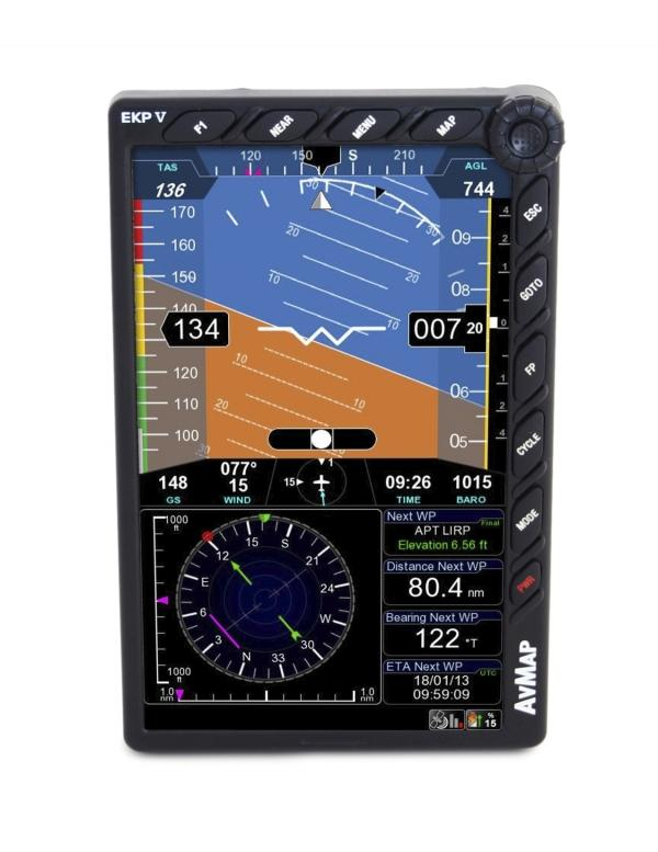 AvMap A2 ADAHRS Module turns EKP V display into an EFIS! Product Launch at Sun N Fun International Fly-In Expo 2013