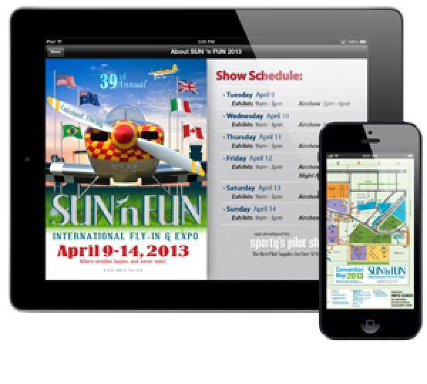 Headed to SUN 'n FUN? Download the Sporty's Free SUN 'n FUN App