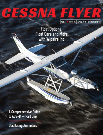 Cessna Flyer April 2019 Float Care
