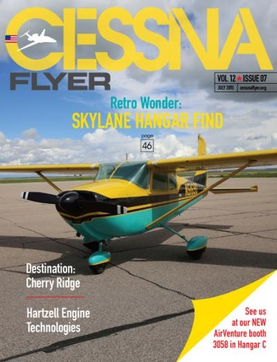 July 2015 Cessna Flyer magazine
