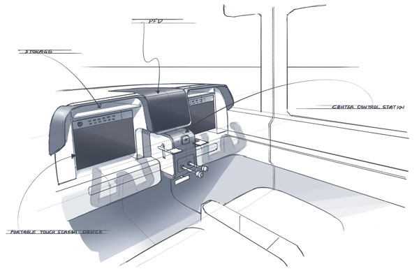 Future Cessna? Re-imagining the 172's Interior Space