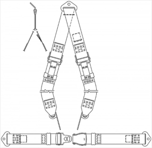 Alpha Aviation Inc Announces CESSNA 150, 150A thru 150K, DUAL OVER THE SHOULDER HARNESS UPGRADE