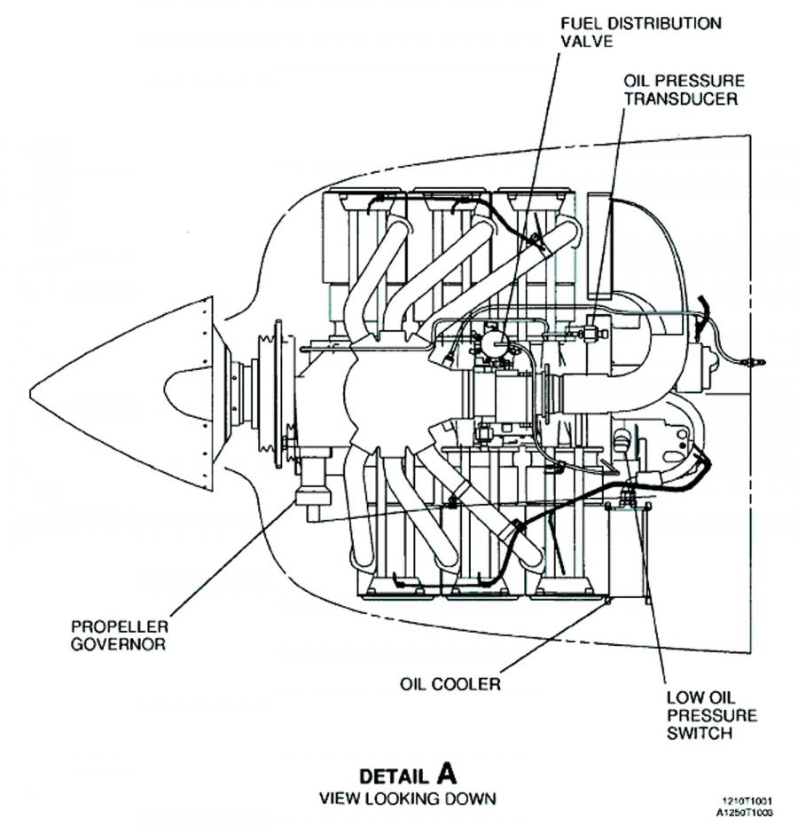 cessna engine diagram