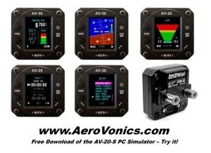 Aerovonics LLC Announces New FAA-Certified AV-20 Multi-Function Instrument
