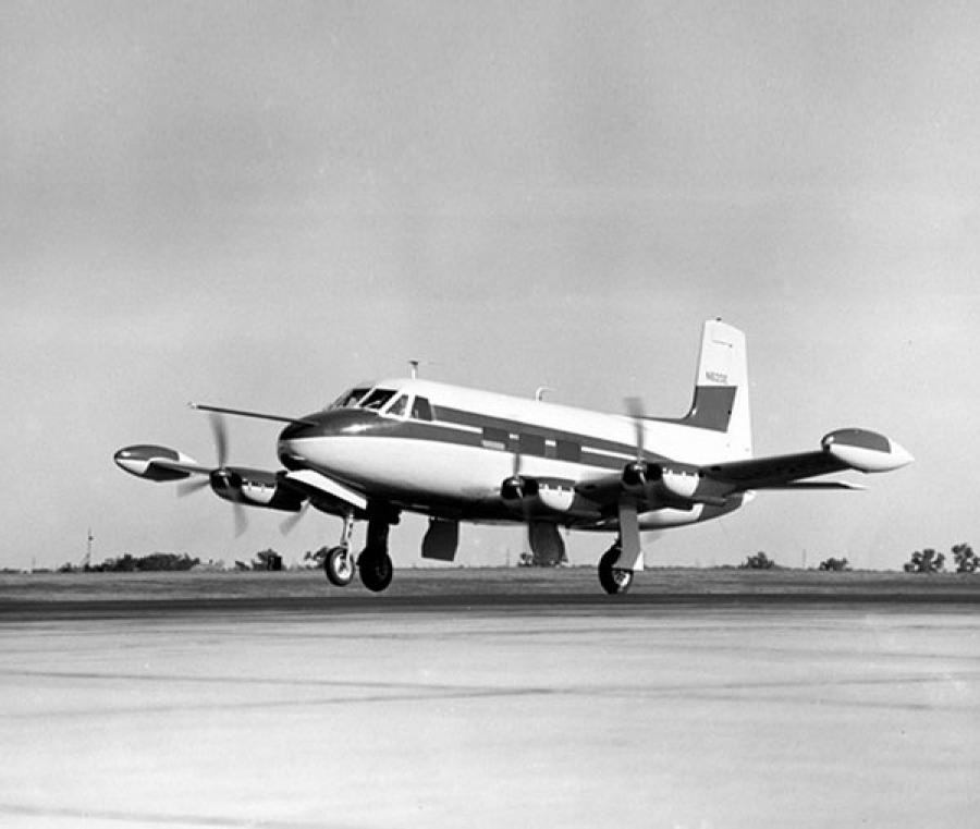 "Cessna Flyer Association - The ""One-off"" Cessna 620"