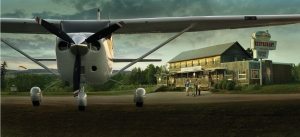Cessna 206 takes the family to dinner. Or camping, for a night on the town, you name it.