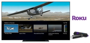 Sporty's Training Courses Now Available on Roku