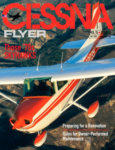 OCTOBER 2018 CESSNA FLYER MAGAZINE