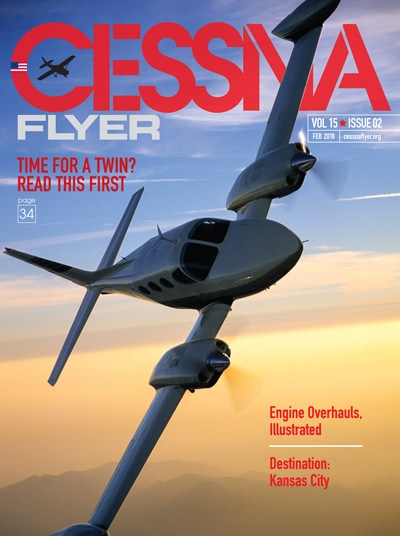 February 2018 Cessna Flyer magazine