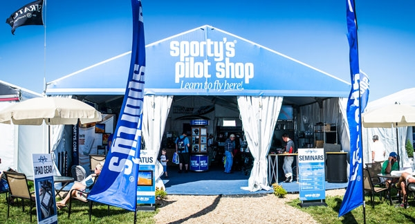 Sporty's Has Three Locations at EAA AirVenture Oshkosh 2018