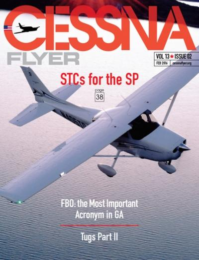 February 2016 Cessna Flyer magazine