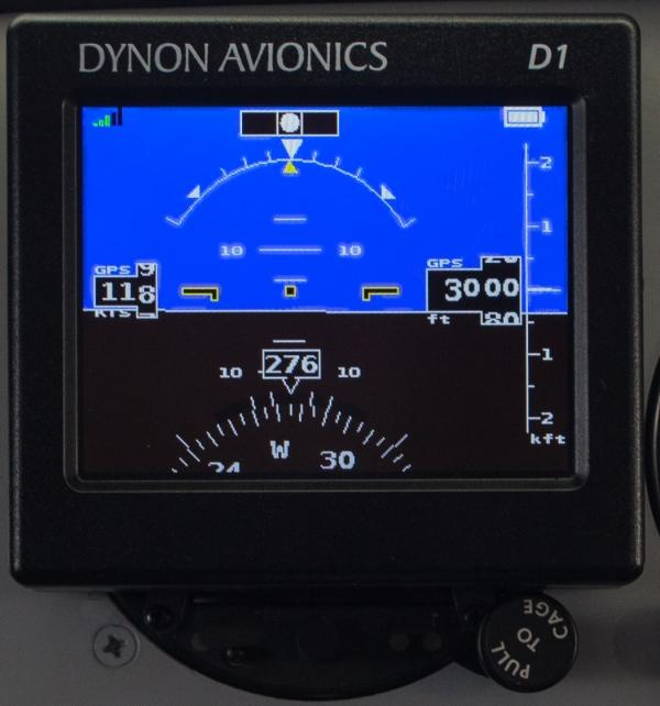 Affordable, Portable EFIS: Dynon's D1 Pocket Panel