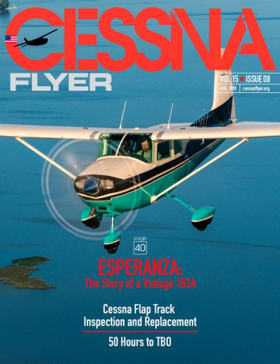 AUGUST 2018 CESSNA FLYER MAGAZINE