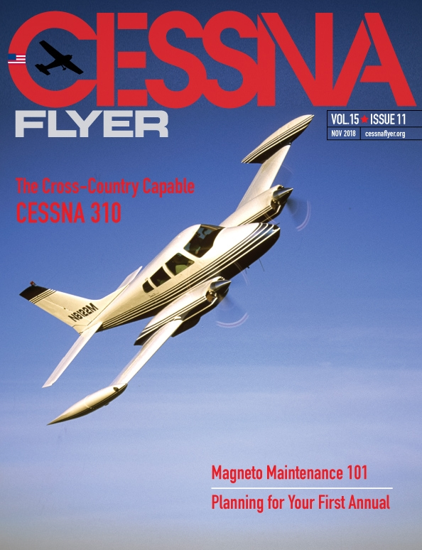 NOVEMBER 2018 CESSNA FLYER MAGAZINE