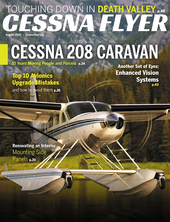 AUGUST 2020 CESSNA FLYER MAGAZINE