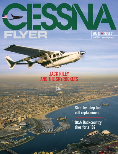 January 2018 Cessna Flyer magazine