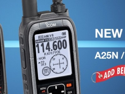 Add Before Flight: New Icom Handheld