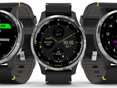 D2 AIR AVIATORSMARTWATCH DELIVERS POWERFUL FLIGHT FUNCTIONALITY WITH A VIBRANT AMOLED DISPLAY