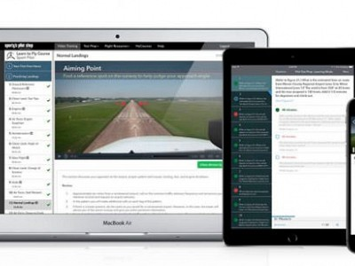 Sporty's Pilot Training App Adds New Test Prep Features, Expands Course Catalog