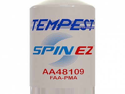 "Tempest® introduces new SPIN EZ™ truly ""non-sticking"" oil filter"
