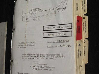 """Q&A: AFM/POH, Owner's Manuals and """"Placard"""" Airplanes"""