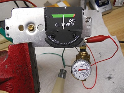 No OTG Equals AOG: Replacing an Inop Oil Temp Guage