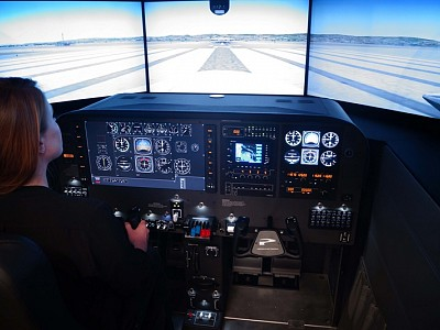 Simulated Cockpit, Real Training