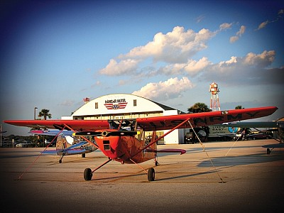 Flying Places: Hangar Hotel - Park your plane, step into the idyllic 1940s