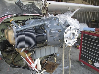 Pre- and Post-overhaul: Engine Removal & Installation