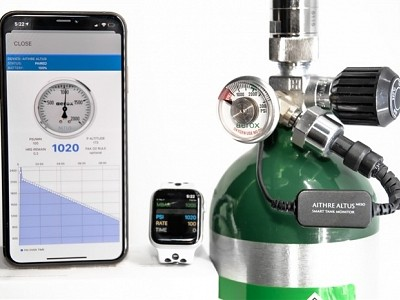 Aerox Aviation Oxygen Systems and Aithre Announce Agreement to Bundle Altus Meso Tank Monitoring Products with Aerox Portable Oxygen Systems.
