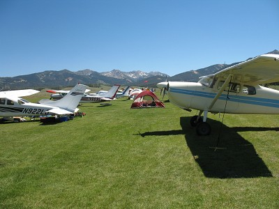 Flying Places: Smiley Creek, Idaho (U87)